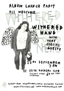 album launch flyer